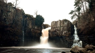 High Force in Upper Teesdale