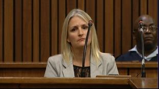 Kim Martin in court