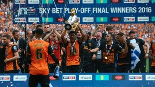 Hull beat Sheffield Wednesday in the Play-Off Final