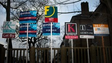 London boroughs top list of highest renter eviction risk.