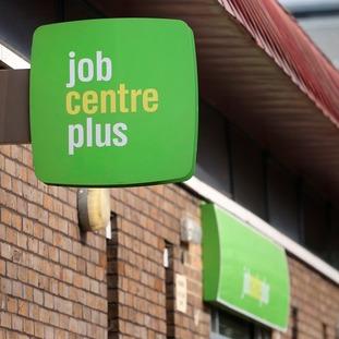 Job Centre Plus sign