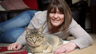 Newcastle cat in running to be 'Cat of the Year' after detecting owner's breast cancer
