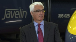 Former Chancellor of the Exchequer Alistair Darling.