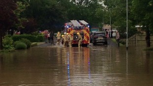The fire service is urging travellers to take care