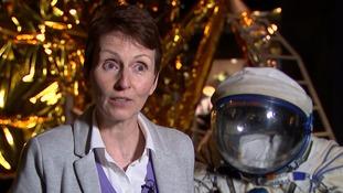 Astronaut Dr Helen Sharman.