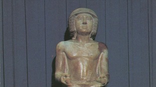 Egyptian statue could be sold