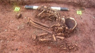 Ancient human remains found in Clifton