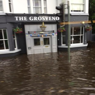 Grosvenor Pub on Mansfield Road