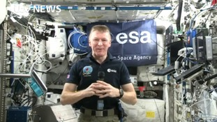 Back with a bump: how Tim Peake will get home from the International Space Station