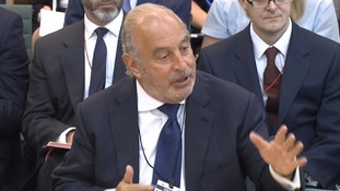 Sir Philip threw himself into answering MPs' questions