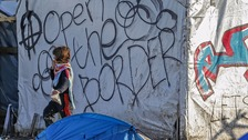 The report looks at the lives of children in camps along the northern French coast