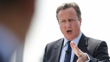 Mr Cameron wrote that Brexit campaigners were playing a 'dangerous game'
