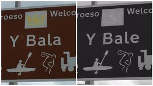 Y Bala or Y Bale?