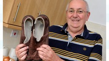 Brian Phillips' slippers may have saved his life
