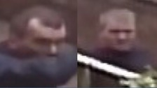 Merseyside Police are keen to speak to these men after a house was burgled in Southport.