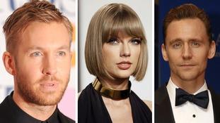 Harris, Swift, Hiddleston