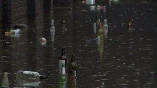 60 properties flooded in Leicestershire