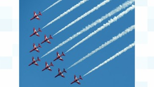 Red Arrows stunts scrapped due to safety concerns
