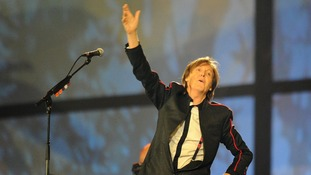 Sir Paul McCartney The Beatles Love Me Do