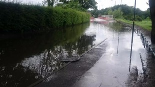 Emergency services urge people to avoid 'heavily flooded' Coventry