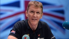 ritish astronaut Tim Peake, who is preparing to return home after a triumphant six months in space