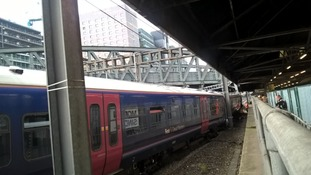 The derailment was caused when the train ran a red signal outside London Paddington station