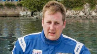Guard of honour for powerboat racer's funeral