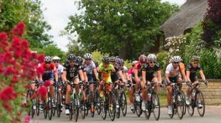 Stage Three of the 2015 Aviva Women's Tour of Britain.
