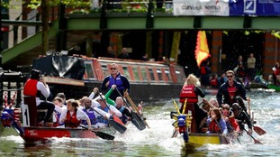 The event will see boats race along the Birmingham and Worcester Canal
