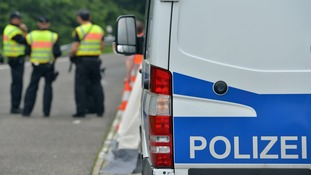 German police officers arrested the six Russians in Cologne.