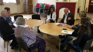 MPs at Surgery in Trumpington, Cambridge
