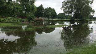 Leicestershire T20 match abandoned due to floods