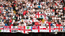 The England v Wales game was trouble-free