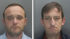 Joseph Courtney and Darren Marsden have been sentenced to a total of 22 years