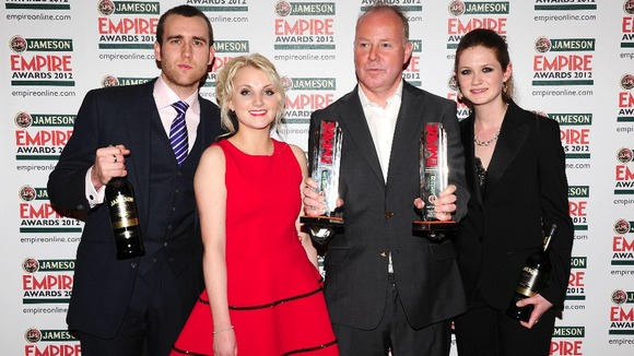 Harry Potter wins at Empire awards