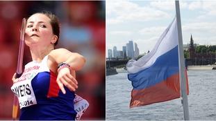 Javelin thrower Sayers backs IAAF's decision to uphold Russian Olympic ban