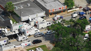 An aerial view of Pulse Nightclub in Orlando