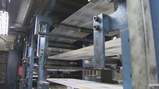 A CN Group printing press