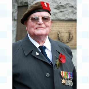 Keith Ridings was returning by train from his father's funeral (pictured above) when the medals went missing