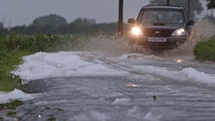 Parts of the Norfolk coast are vulnerable to tidal flooding