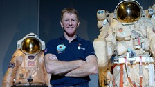 Tim Peake has arrived back on earth after six months in spaceTim Peake has arrived back on earth after six months in space