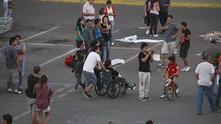 A magnitude 7.2 earthquake in Chile