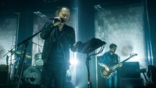 Radiohead perform in London last month.