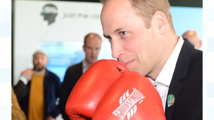 Prince William urges fathers to talk to children about mental health