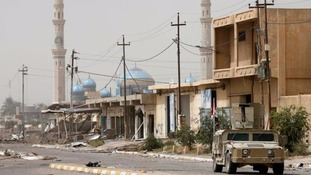 Iraqi forces gain control of Fallujah hospital from IS
