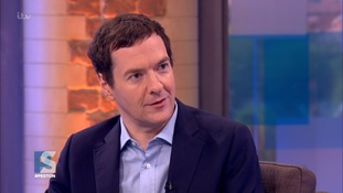 Mr Osborne said the poster hailed a 'meaner, narrower' Britain