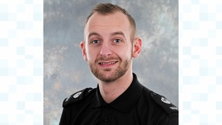 PC Stuart Watson of Norfolk Police.