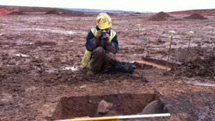 Ancient human remains unearthed