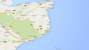 Men quizzed over stricken boat off the coast of Kent