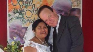 Robert Webb and wife